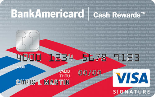 $100 Cash Rewards Bonus After Required Spend BankAmericard Cash Rewards™ Credit Card
