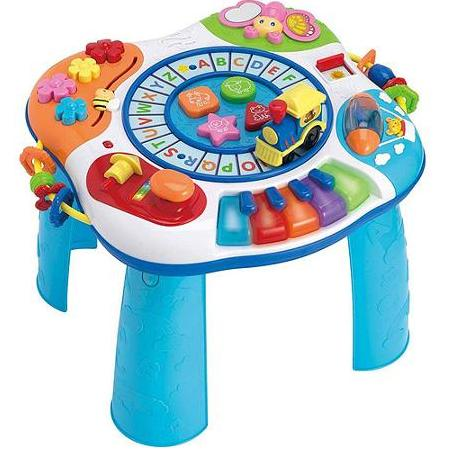 Letter Train & Piano Activity Table