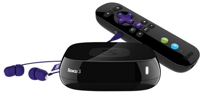 Refurbished Roku 3 1080p Wireless Streaming Media Player 4200XB