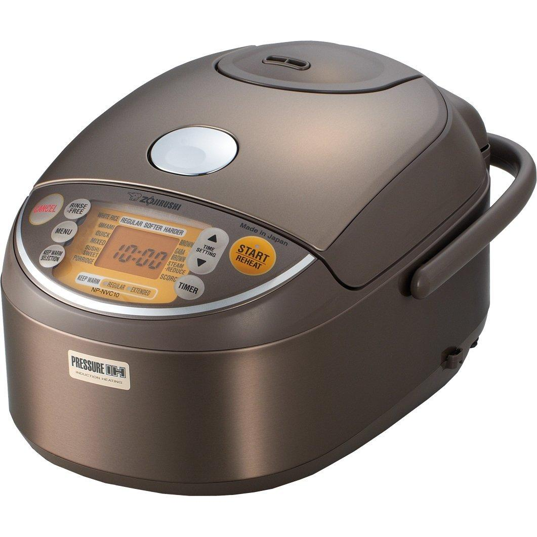 $388.57 Zojirushi NP-NVC10 Induction Heating Pressure Cooker (Uncooked) and Warmer, 5.5 Cups/1.0-Liter
