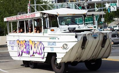 $39Ride the Ducks, Land & Water Tours of Seattle