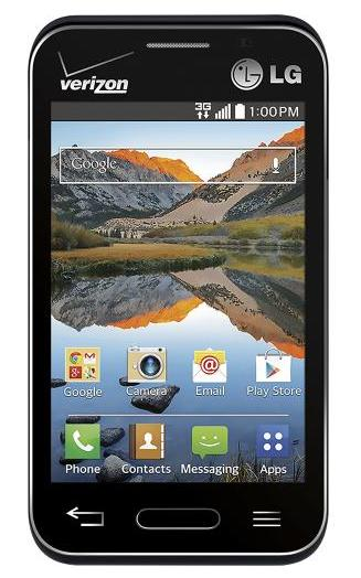 Verizon Wireless Prepaid - LG Optimus Zone 2 No-Contract Cell Phone