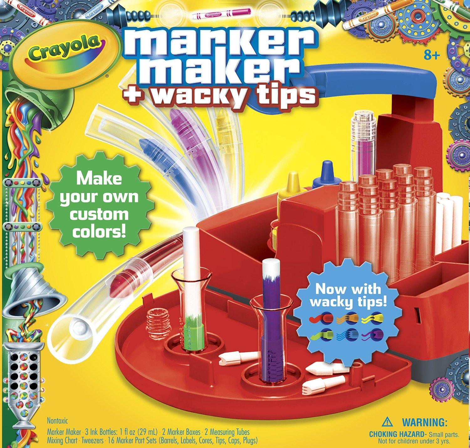 #1 Best Seller! Crayola Marker Maker Wacky Tips