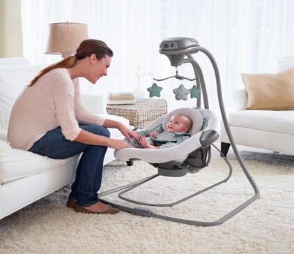 Graco Duet Connect LX Swing Plus Bouncer @ Amazon