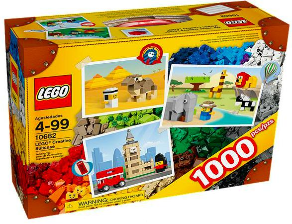 LEGO 10682 Creative Suitcase 1000 Pieces