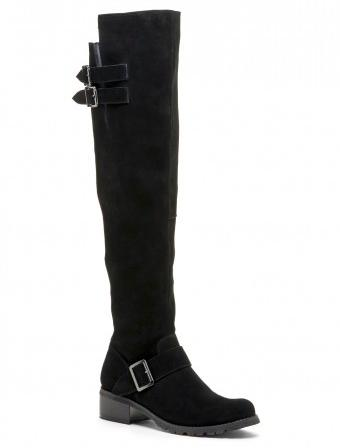 $59Sole Society Umber Suede Over The Knee Boot, 3 Colors