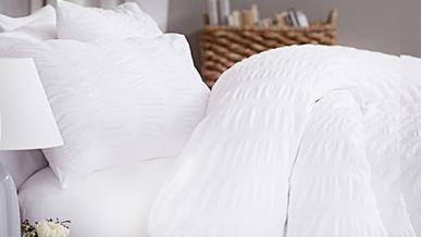 20% Offon White Bedding, Bath and Tableware @ Casa