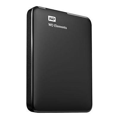 WD Elements 2TB Portable External Hard Drive, USB 3.0