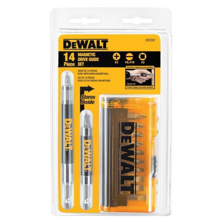 $4.99Dewalt 14 Piece Magnetic Drive Guide Set (DW2097)