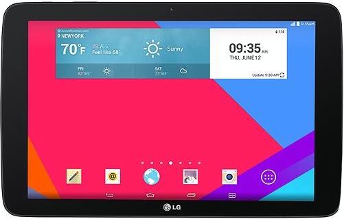 $89.99Pre-Owned LG - G Pad 10.1in 16GB Android Tablet - Black