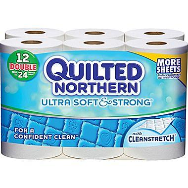 $3.99 Quilted Northern Ultra Soft & Strong Toilet Paper, 12 Rolls/Case
