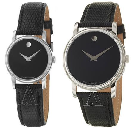 $189 Movado Museum Men's or Women's Watch 2100002