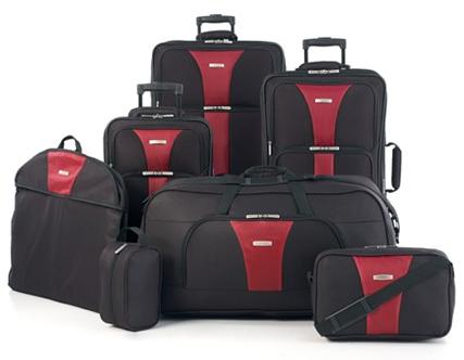 Travel Select Creekside 7-Piece Spinner Luggage Set