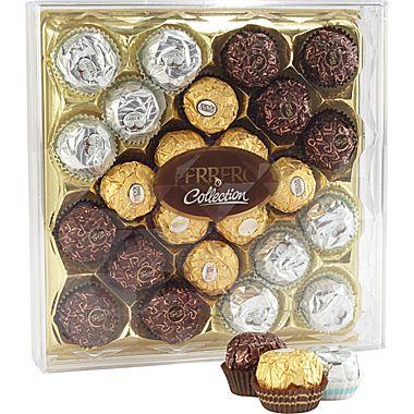 $7.99 Ferrero Rocher® Diamond Collection Assorted Chocolates Gift Box, 24 Pieces/Box