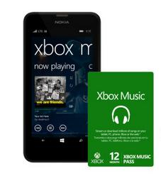 $99.9 AT&T Nokia Lumia 635 No Contract Smart Phone + 12-Month Xbox Music Pass Bundle