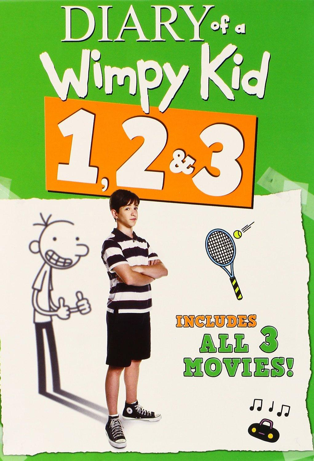 $10 Diary of a Wimpy Kid DVD 1/2/3