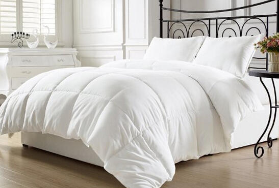$33.99 Elegant Comfort Luxurious Down Alternative Double-Fill Comforter Duvet Insert