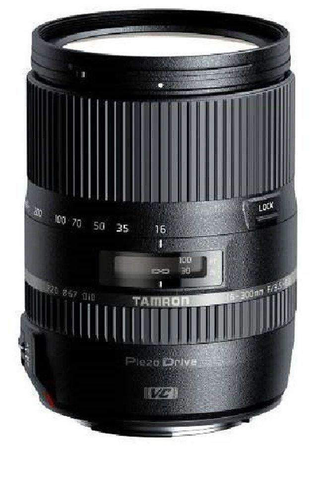 $499(After Rebate) Tamron AFB016N700 16-300 F/3.5-6.3 Di II VC PZD Macro 16-300mm IS Interchangeable Lens for  for Nikon, Canon and Sony Cameras