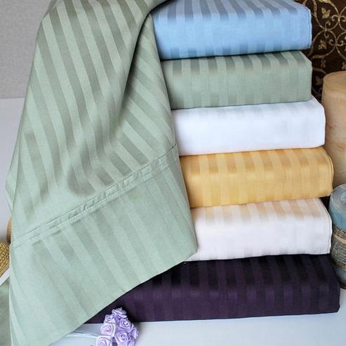12.99 NY Hotel Deluxe 300TC Cotton Bed Sheet Set (Multiple Choices Available)