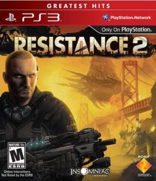 $7.99 Resistance 2 Greatest Hits - PlayStation 3