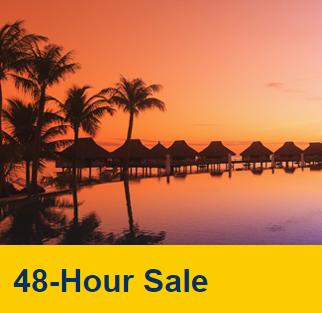Up to 54% Off 48-Hour Hotel Booking Sale @ Expedia