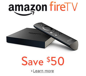 $60  $50 off Fire TV with 3 month Sling TV subscription