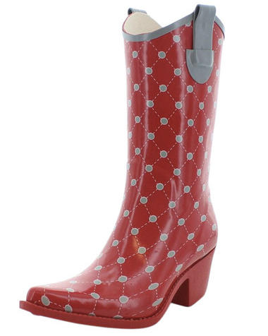 Corky's Women's Western Style Rain Boots (14 Colors Available)