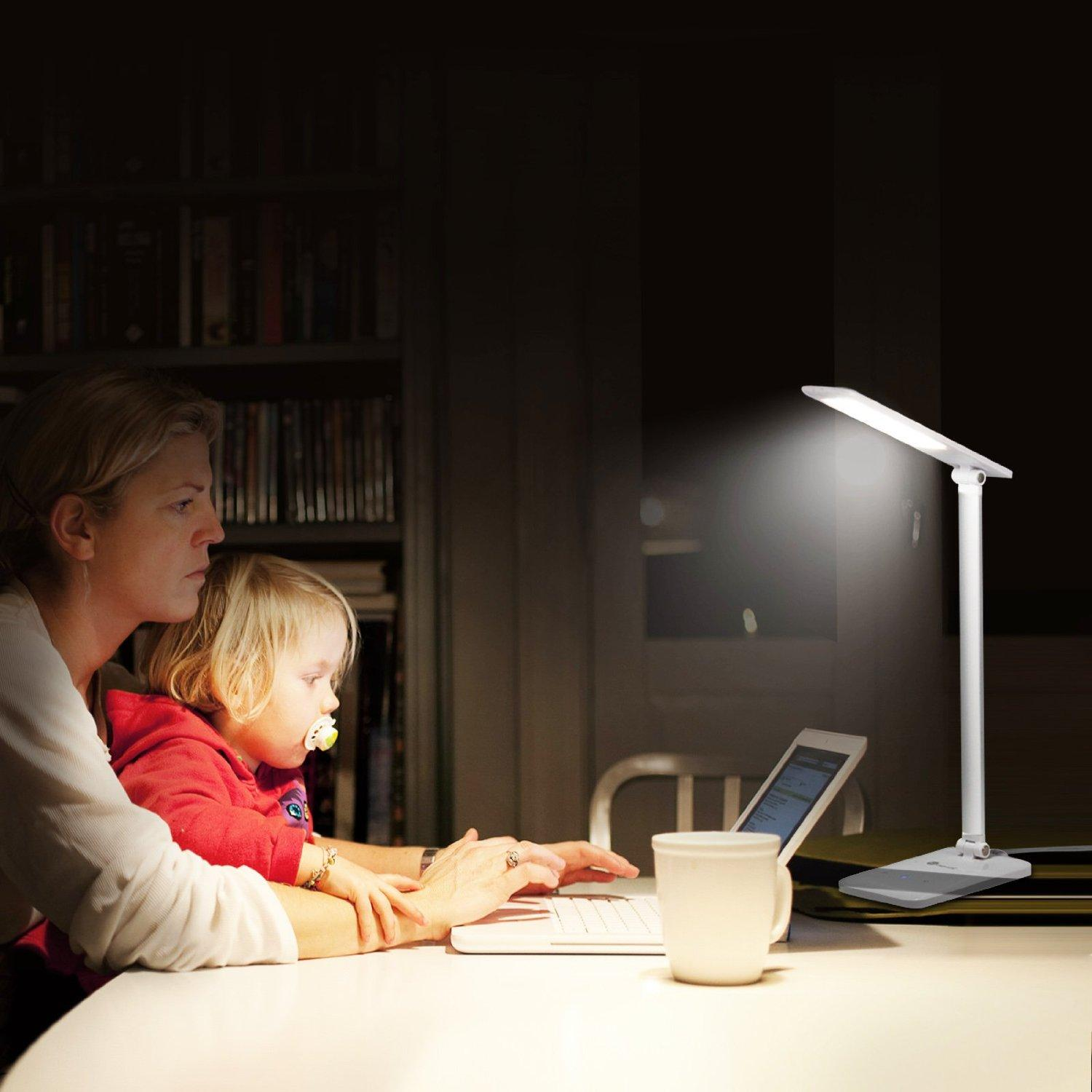 $25.99 TaoTronics LED Desk Lamp Dimmable
