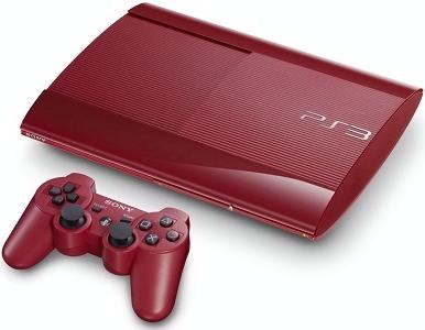 Pre Owned Sony PS3 PlayStation 3 500GB God of War Console Only - Red