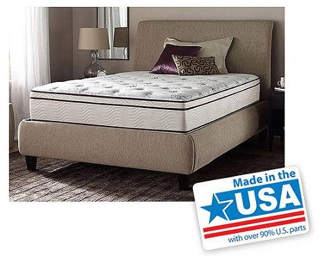 "$299 Beautyrest Studio 12.5"" Pocketed Coil Plush Eurotop Mattress with Microgel Memory Foam (Queen)"