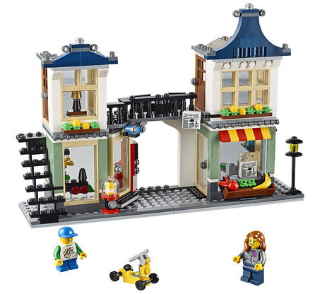 $31.99 LEGO Creator Toy and Grocery Shop