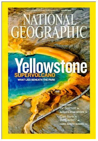 $30 2 Years of National Geographic Magazine(Print + Digital)