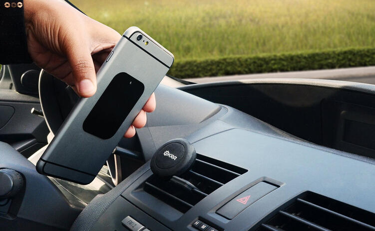 $9.99 Okra Universal Magnetic Vent Car Mount For Smarthphones And Gps Devices