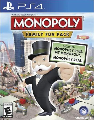 $19.99 Monopoly Family Fun Pack - Xbox One/PlayStation 4