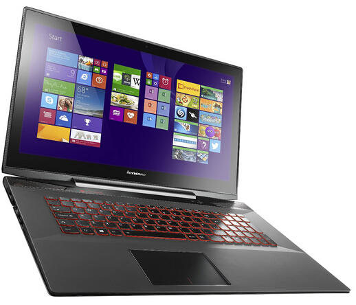$1199 Lenovo Y70 17.3-Inch Touchscreen Gaming Laptop (80DU0034US) Black