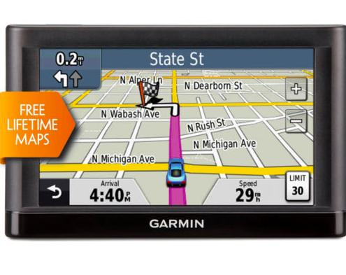 "$64.99 Refurb Garmin nuvi 52LM 5.0"" GPS Navigation System with Lifetime Map Updates"