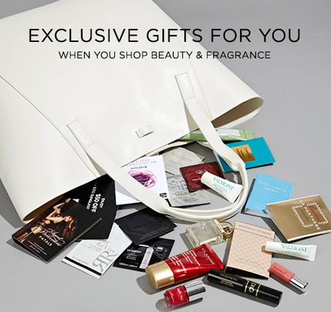 Free Sample-filled Tote + Free Shipping with any $125 Beauty & Fragrance Purchase @ Saks Fifth Avenue