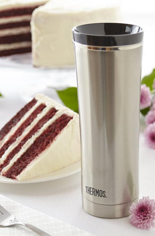 $24.97 Thermos 16-Ounce Vacuum-Insulated Travel Tumbler