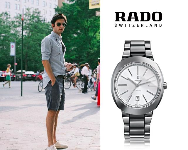 Rado Men's D-Star Watch R15762102 (Dealmoon Exculsive)