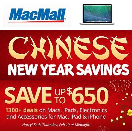 Up to $650 Off  Selected Apple Items @ MacMall