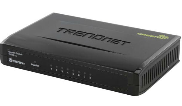 TRENDnet TEG-S81g Unmanaged 8-Port Gigabit GREENnet Switch