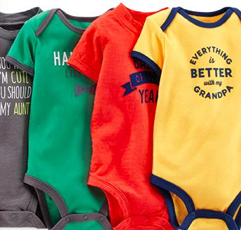 $7 Carter's Baby Cotton Snap-Up Sleep and Play