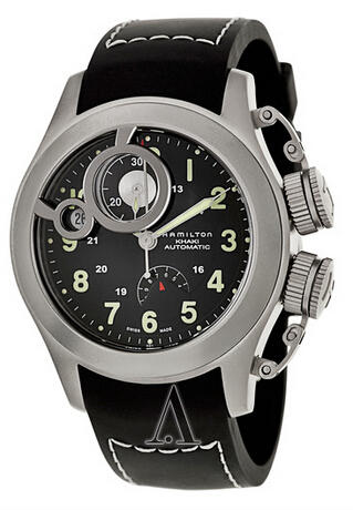 $598 Hamilton Khaki Navy Frogman Men's Watch H77746333