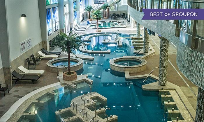 King Spa & Sauna full Access, Including Indoor Water-Park Attractions
