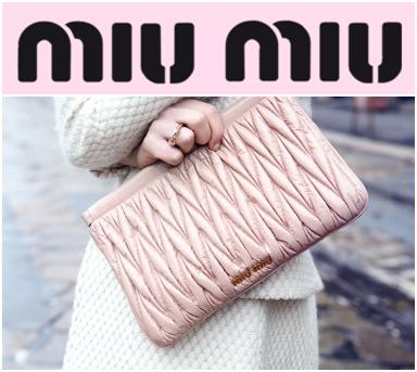 Up to 54% Off MiuMiu Designer Handbags, Wallets & Shoes on Sale @ Gilt