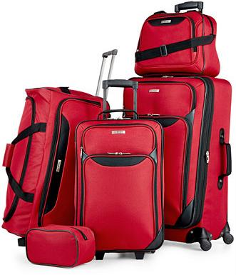 $59.99 Tag Springfield III 5 Piece Luggage Set