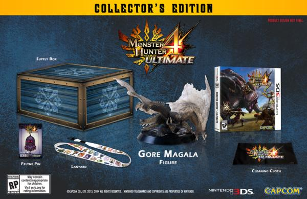 $59.99 Monster Hunter 4 Ultimate Collector's Edition