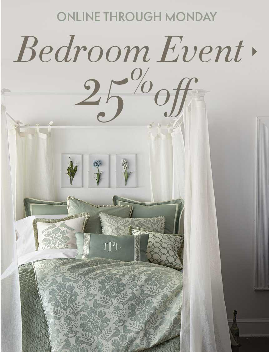 25% Off  Bedroom Event @ Neiman Marcus