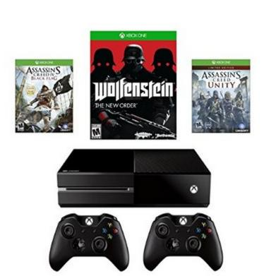 $349 Xbox One Assassin's Creed Unity Bundle + Wireless Controller + Wolfenstein: The New Order