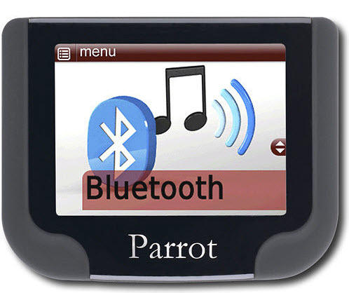 $70.99 Parrot Bluetooth Hands Free Car Kit Gray